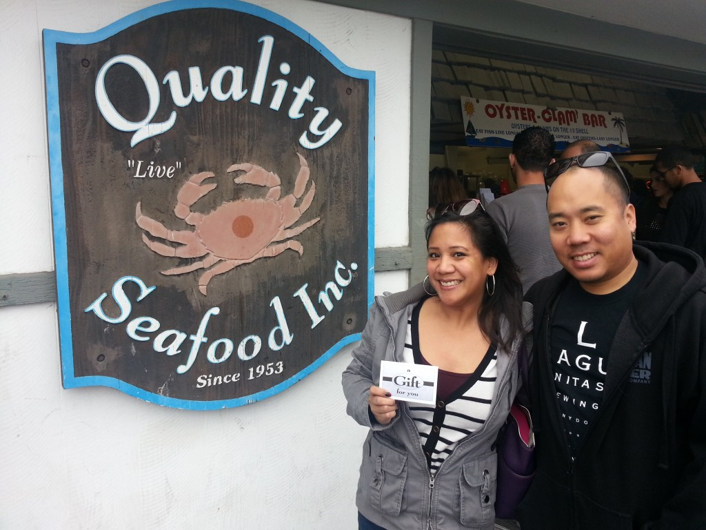 Quality Seafood Sweepstakes Winner Mary S.