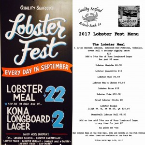 All Lobster, All Month Long!